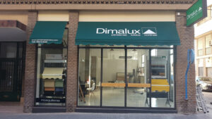 Fachada persianas, toldos, cortinas Dimalux Alicante