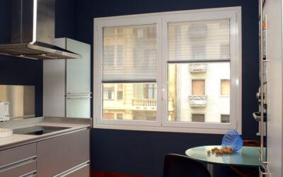 Las cortinas plisadas, la mejor opción para la cocina de casa