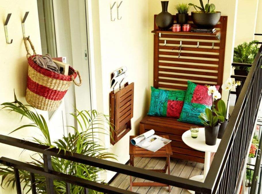 Ideas para decorar un balcón pequeño