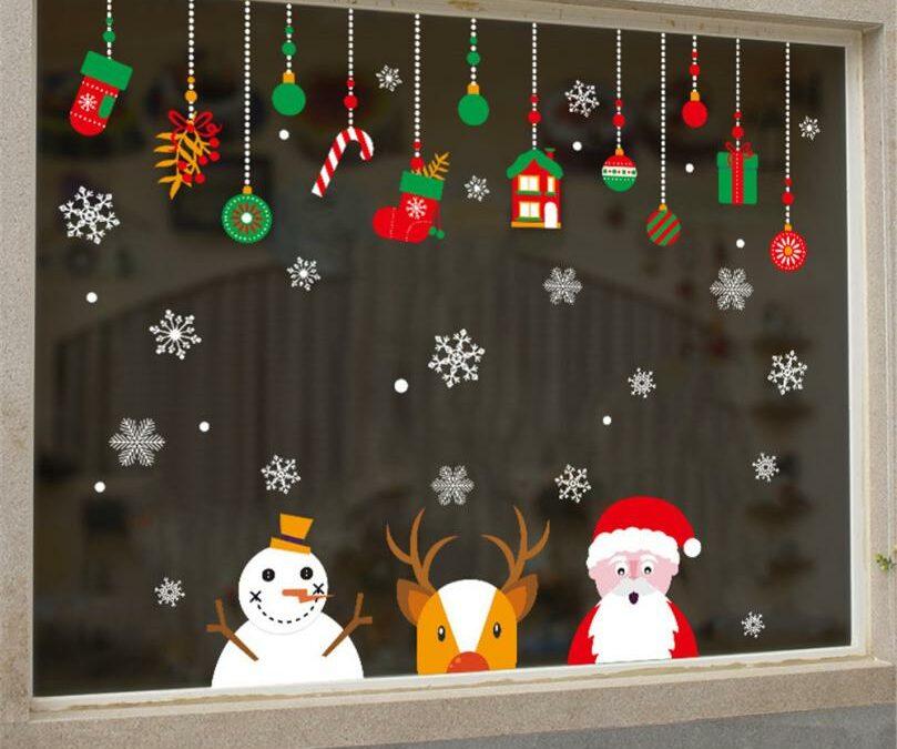 Las mejores ideas para decorar tus ventanas para Navidad