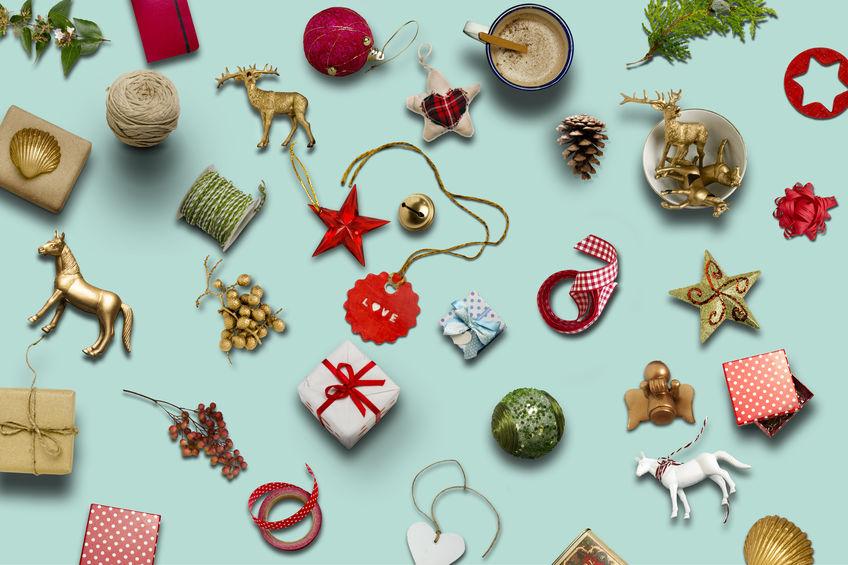toldo decorado navidad