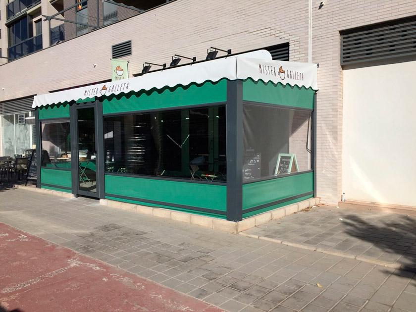 Mister Galleta cerramientos de terrazas en Alicante