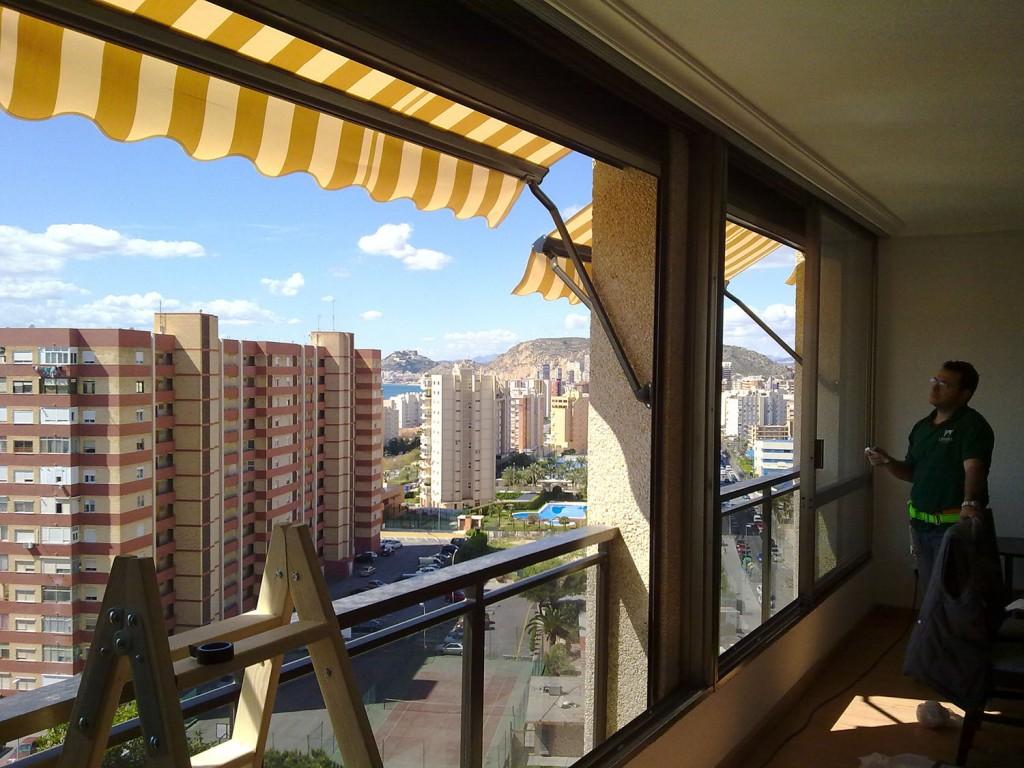 Toldos motorizados Alicante