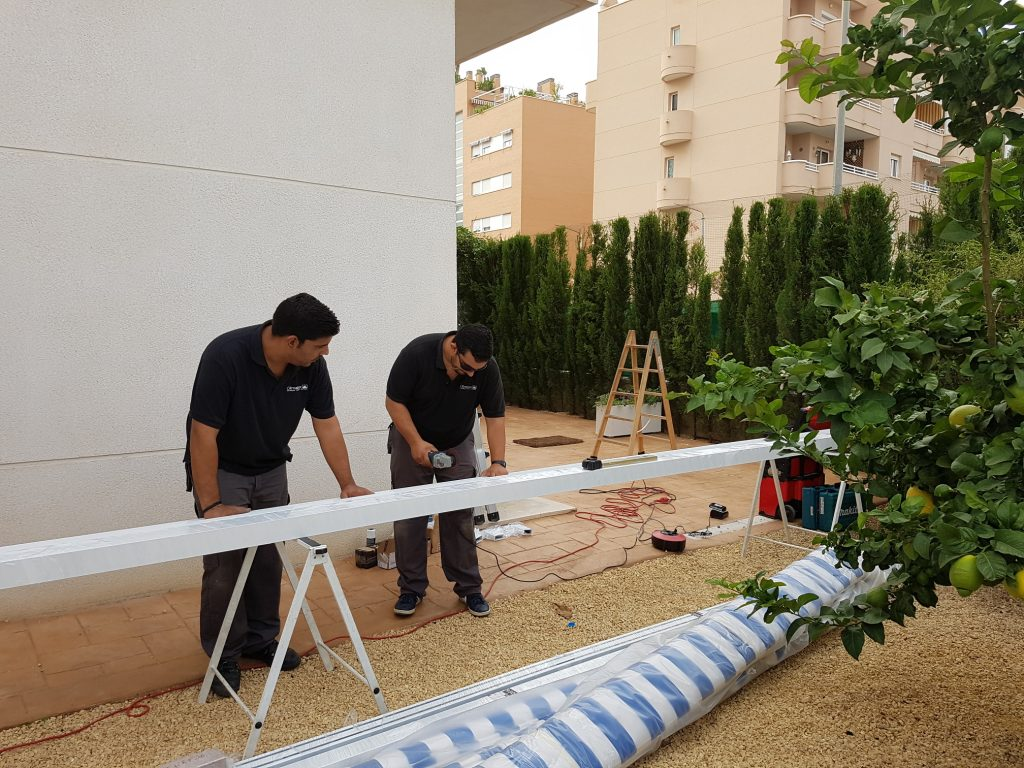 Cómo proteger toldo en Alicante