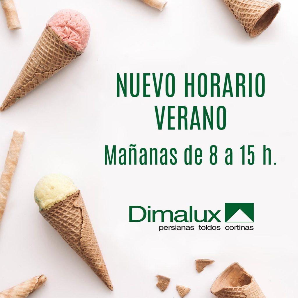 Nuevo horario verano 2018