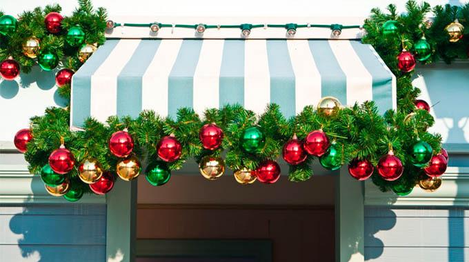 toldos decorados navidad